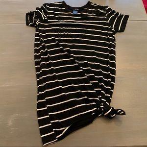 Wet Seal striped t shirt dress